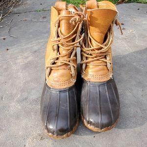 LL bean duck boots sz 7